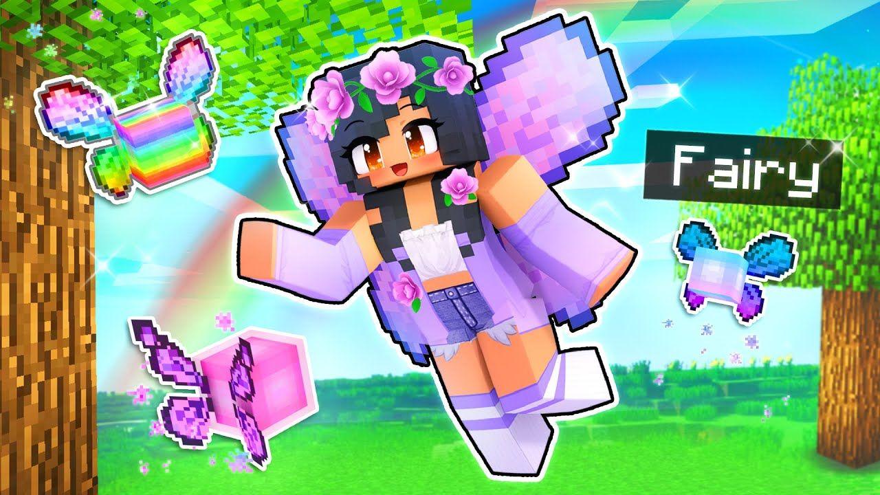 We Found The SECRET Rainbow FAIRY In Minecraft! YouTube