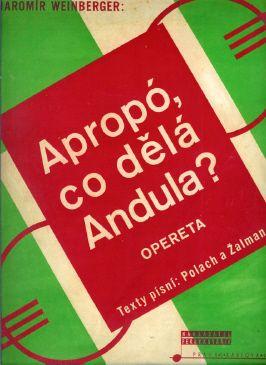 Music book cover, Czechoslovakia, 1930s