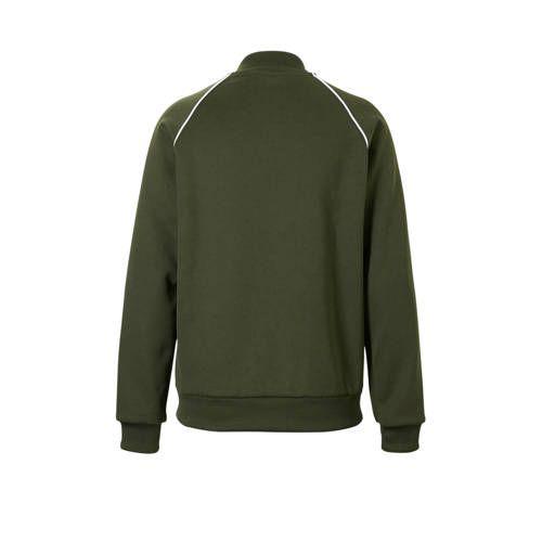 adidas originals vest donkergroen | Trui vest, Adidas ...