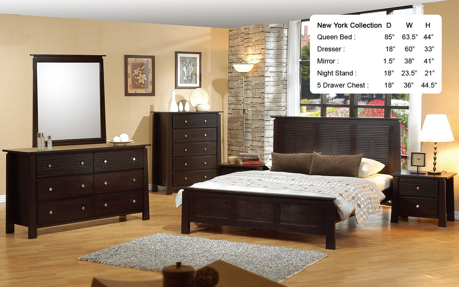 furniplanet new york traditional bedroom set for cheap
