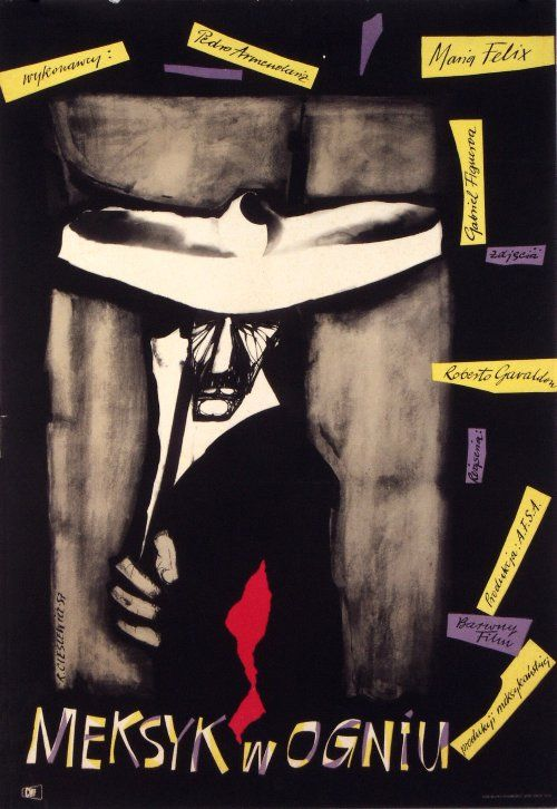 La Escondida, Polish Movie Poster