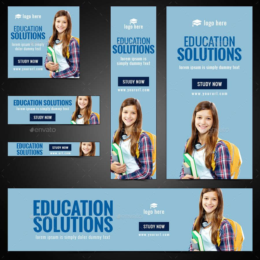 Education Banners Bundle 6 Sets 100 Banners Education Banner Education Banner