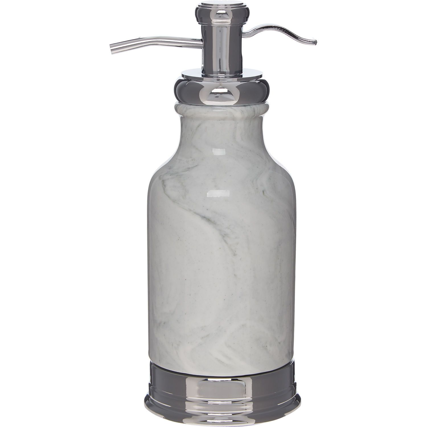 Grey Marble Inspired Soap Dispenser | Bathroom accessories, Marbles ...