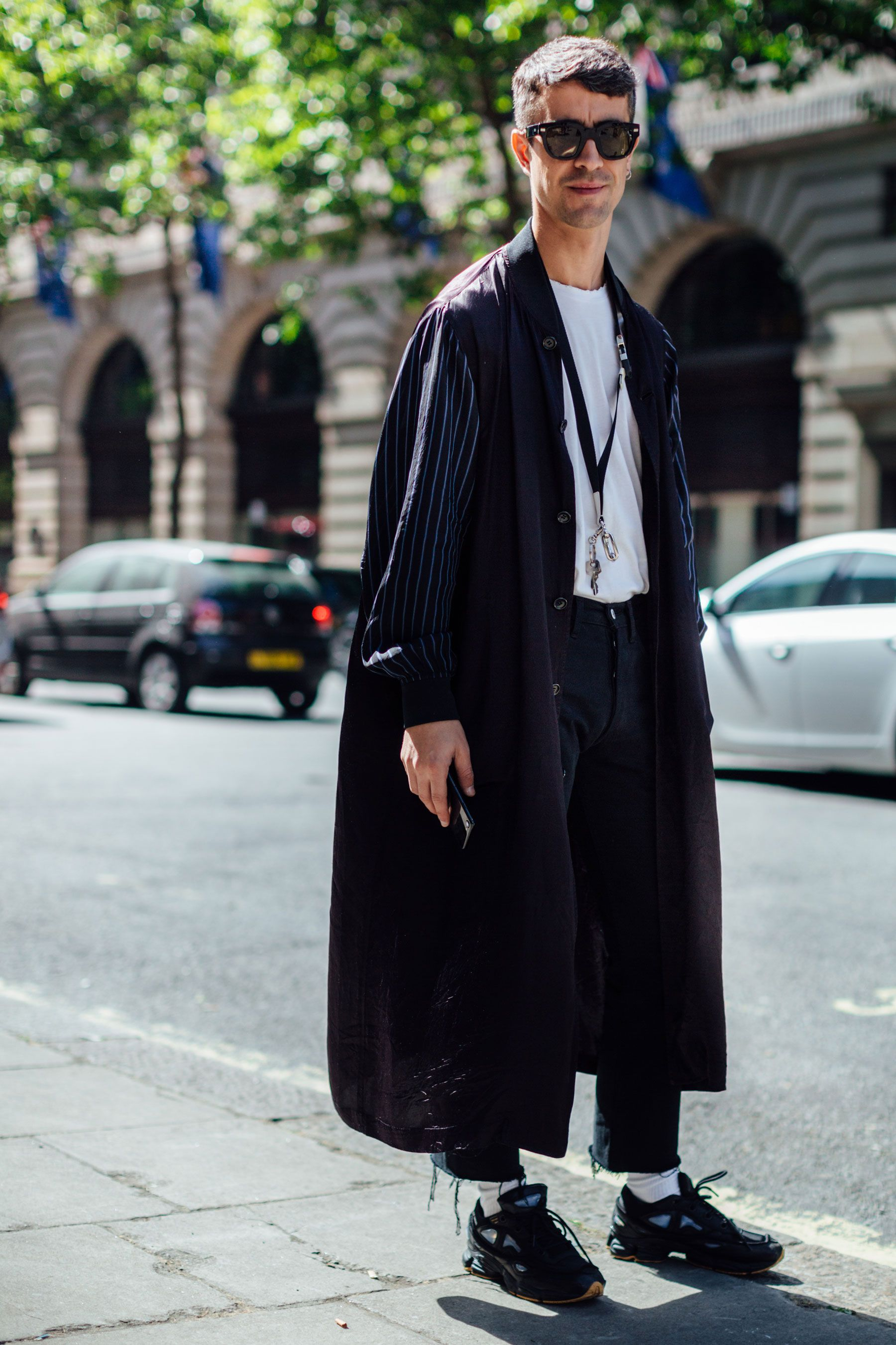 London Fashion Week Men\u0027s. Street Style Spring 2018.