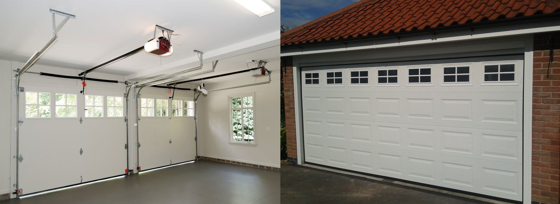 An Automatic Garage Door In Your House Adds A Unique Charm And