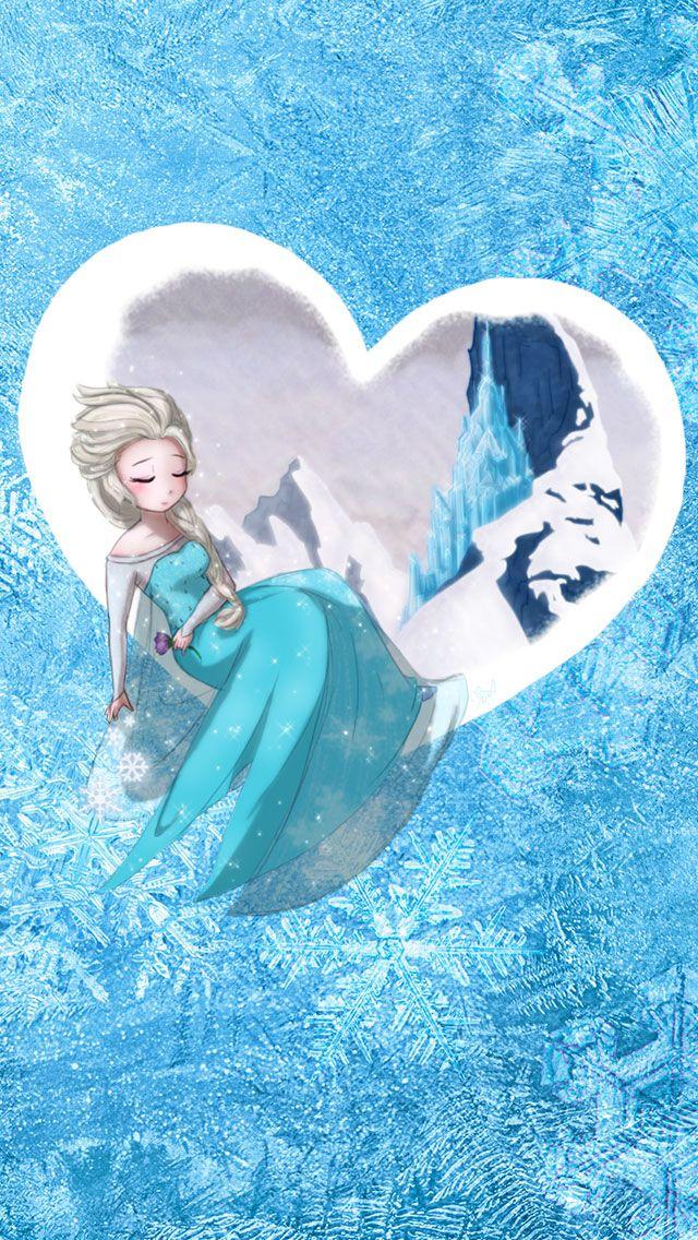 Elsa Frozen Disney Wallpapers for iPhone 5S Backgrounds is
