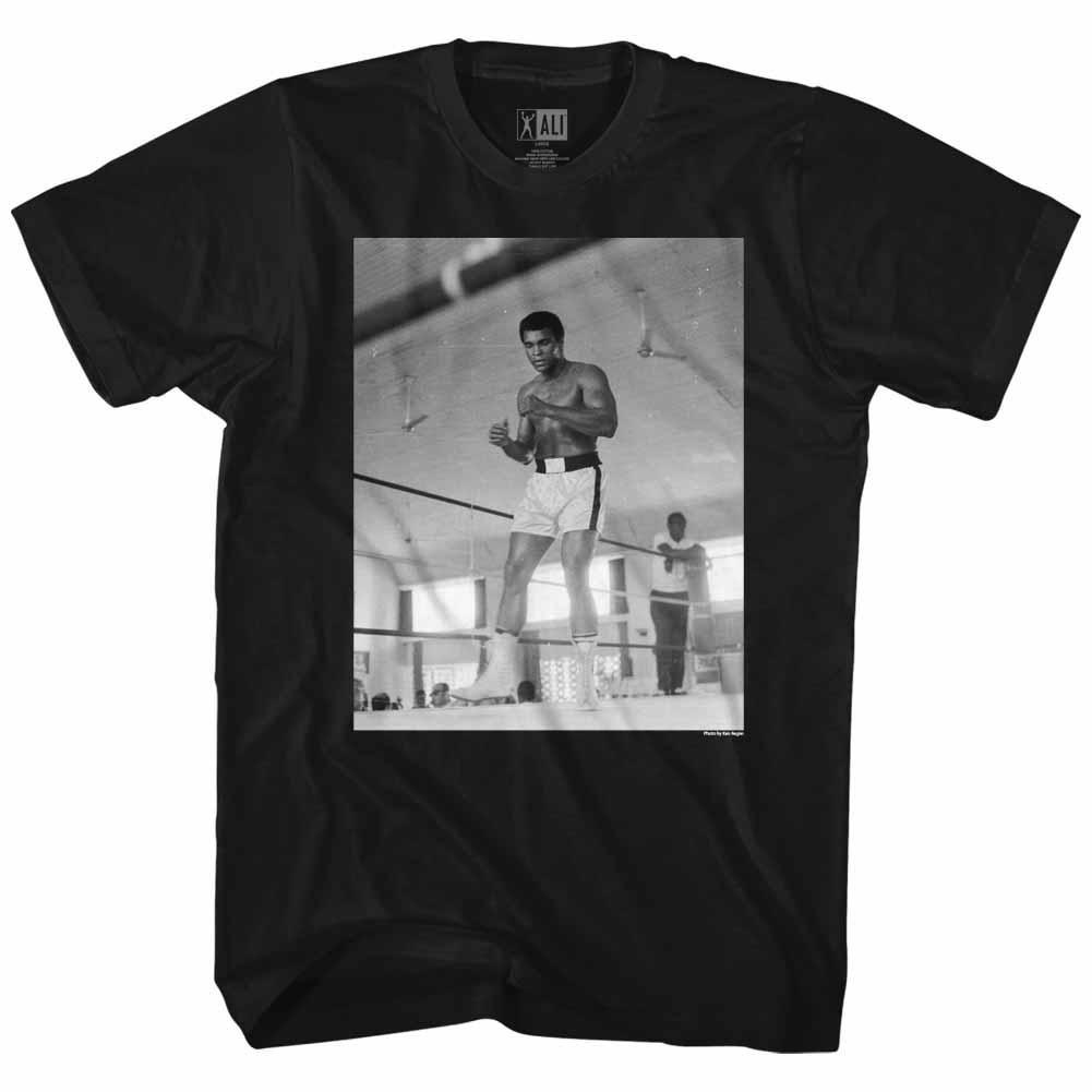 Muhammad Ali Live In Las Vegas Heavyweight Champion Adult T Shirt Boxing