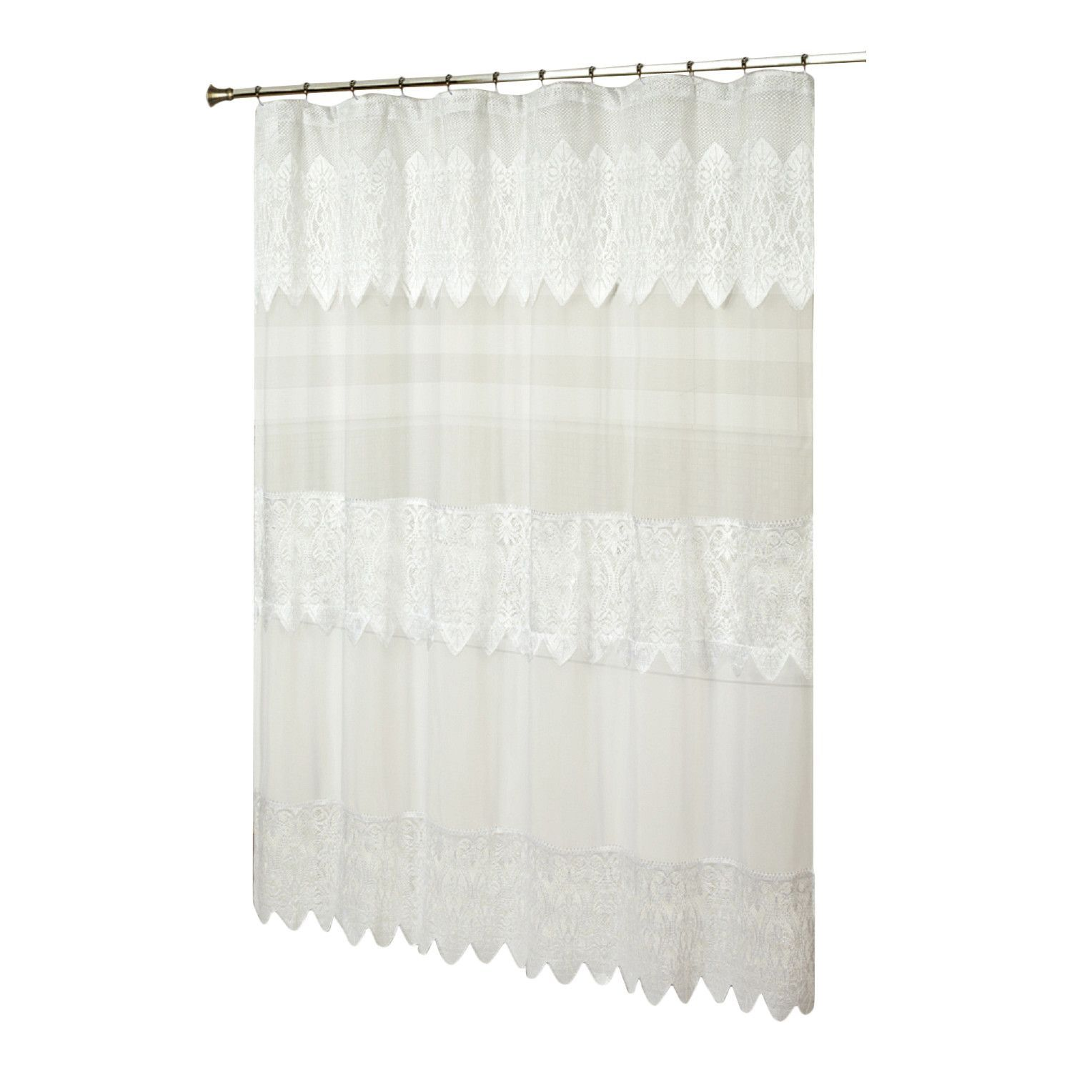 Franklyn Sheer Shower Curtain Products Elegant Shower Curtains