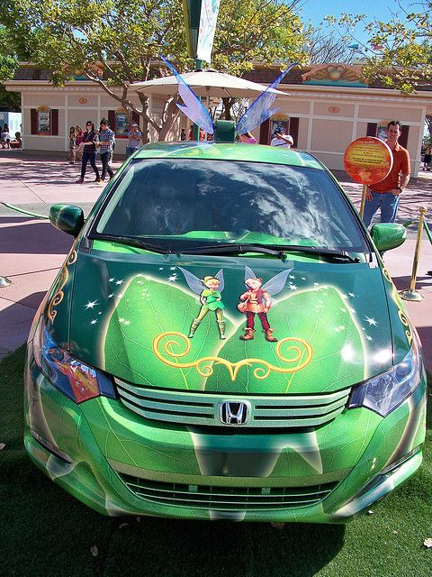 Honda Tinker Bell Car Complete With Flapping Wings