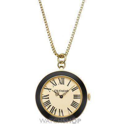 Unisex Old England Black And White Pendant Watch OE109SR