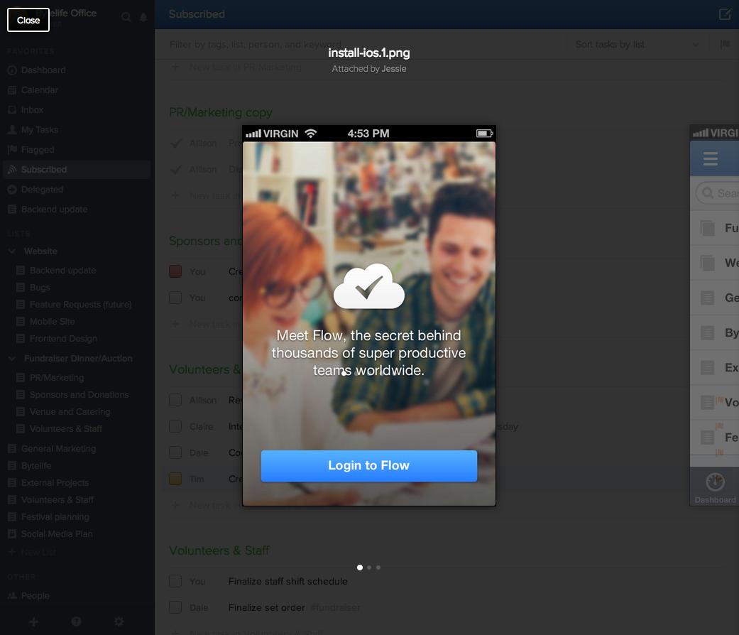 Team Task Management App Flow Gets A Huge Overhaul. Still