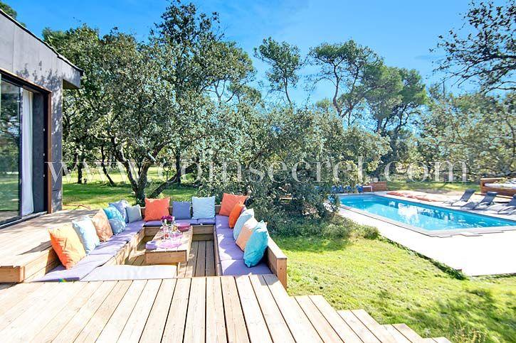 Location d\u0027une villa contemporaine en Provence - Rognes Coins - location vacances provence avec piscine