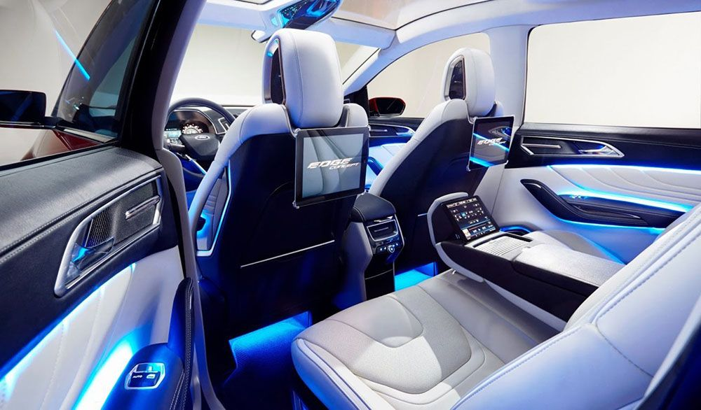 New 2017 Ford Explorer Review Automotrends Ford Edge Ford Cars