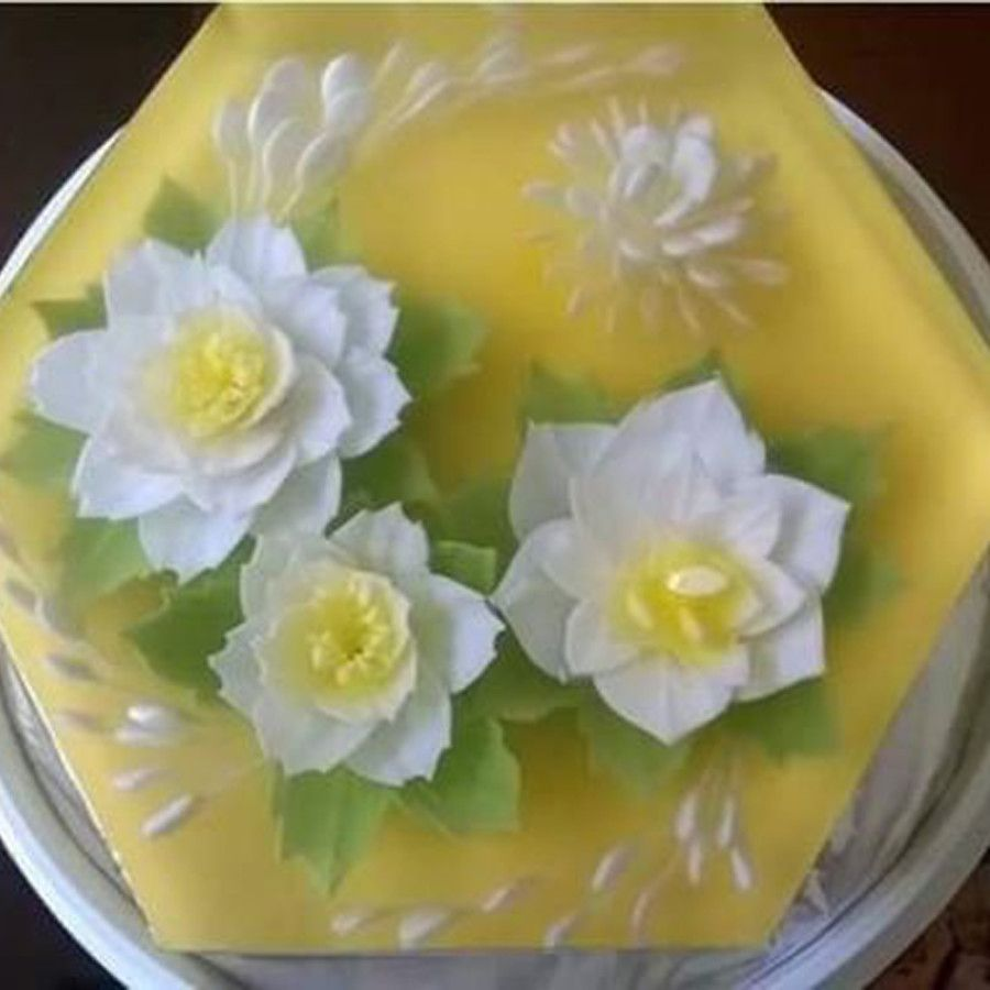 Housewives Are Talking About This Picturesque Cake. Here's The Secret Recipe