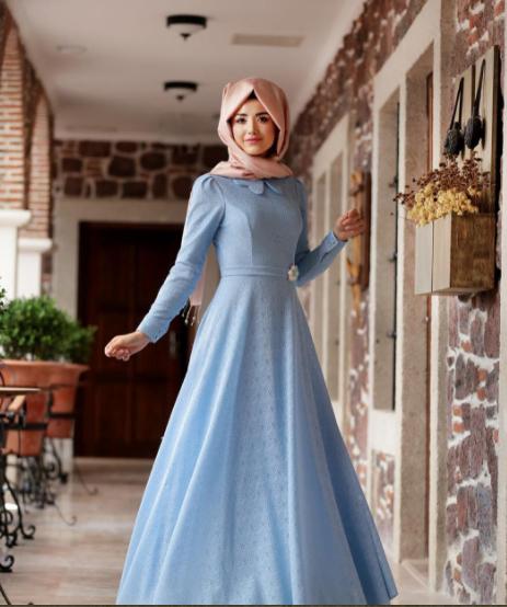 2017 Sik Ve Modern Tesettur Mezuniyet Elbise Modelleri Elbise Modelleri Elbise Sik