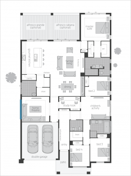 Miami Floorplans Mcdonald Jones Homes Home Design Floor Plans Floor Plan Design House Plans