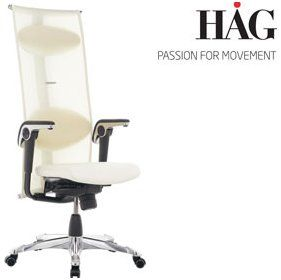 Hag H09 Inspiration Chair 9230 Cream 1116 Office Chairs Cream Office Chair Chair Inspiration