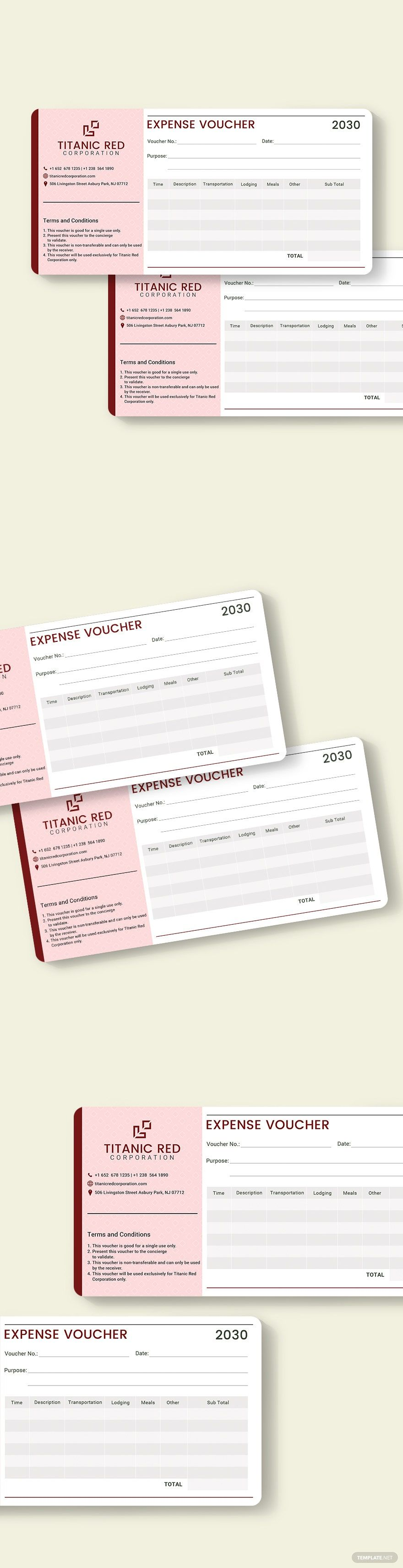 Cash Expense Voucher Template in 2020 | Templates, Voucher ...