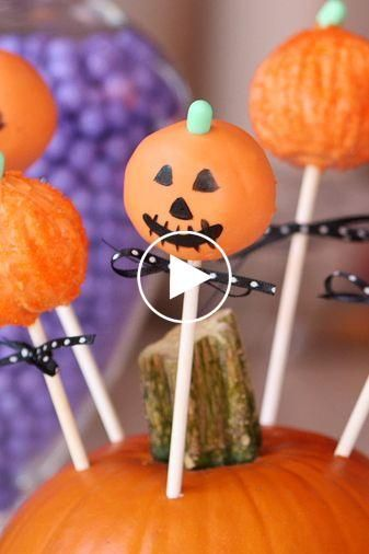 How to Make Cake Pops Video  You need these adorable jacklantern cake pops at your Halloween party this year.  Source by POPSUGARFood #howtodisguiseyourself How to Make Cake Pops Video  You need these adorable jacklantern cake pops at your Halloween party this year.  Source by POPSUGARFood #howtodisguiseyourself