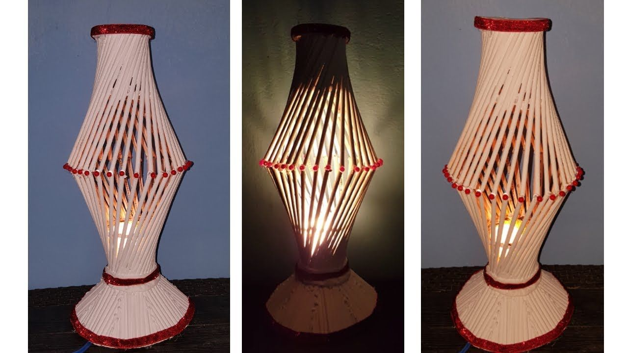 How To Make New Style Table Lamp With Newspaper Wonderful Table