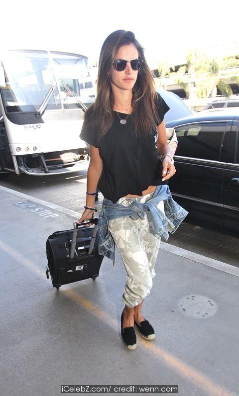Alessandra Ambrosio At Los Angeles International Airport (LAX) http://icelebz.com/events/alessandra_ambrosio_at_los_angeles_international_airport_lax_/photo1.html