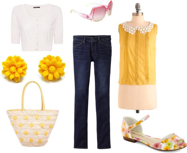 Spring Errands, created by launched-out on Polyvore