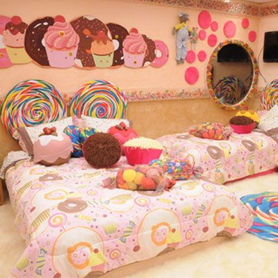 Pin By Tamara Cleland On Cute Room Decor Candy Themed Bedroom