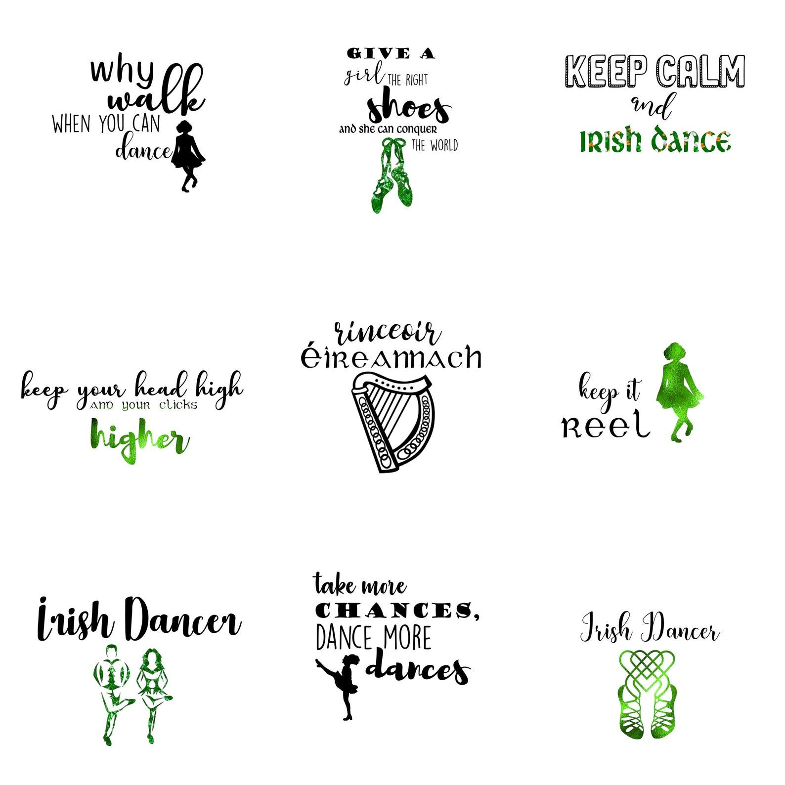 Irish Dancing Svg Irish Dance Svg Irish Dance Printable Irish Dancing Printable Irish Dancer Printable Irish Printable Irish Dance Irish Dancers Dance Logo