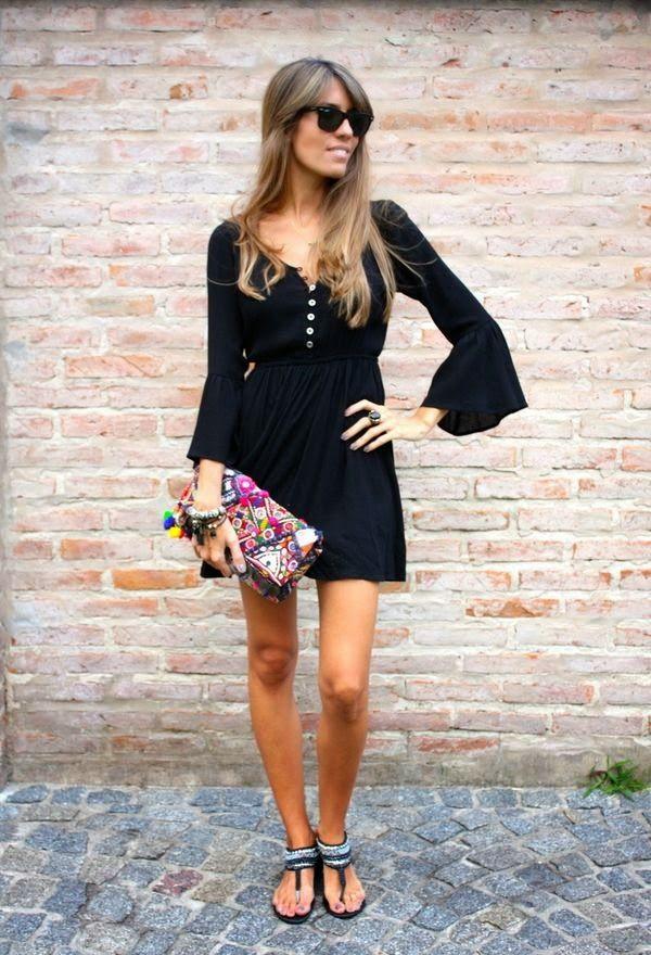 Vestidos en moda casual