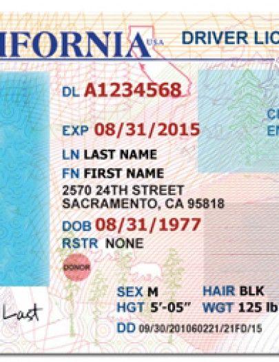 DLB6998586 EXP 06 25 2019 LN MOHAMED FN GHANIM 929 85TH STREET - new california birth certificate sample