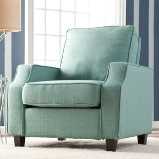 Ordinaire Upton Home U0027Coreyu0027 Turquoise Upholstered Arm Chair | Overstock.com Shopping    Great Deals On Upton Home Chairs