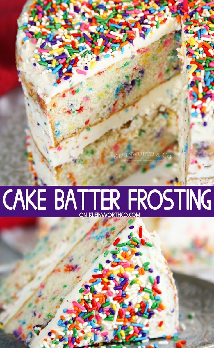 Batter Frosting Recipe is perfect for the extreme lover of all things cake batter. What could be better than frosting that adds more yummy cake flavor?