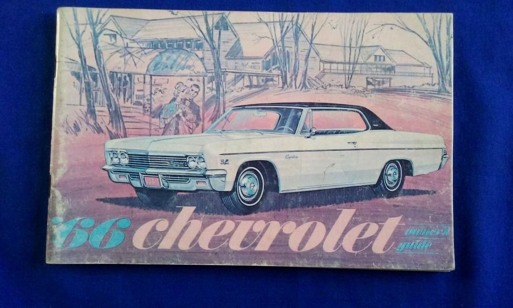 1966 chevrolet owners manual ebay chevrolet owners