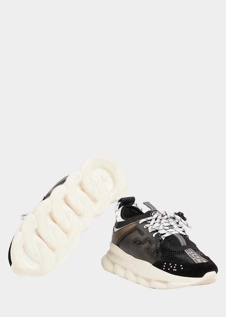 Versace chain, Sneakers, Versace sneakers