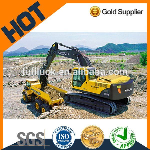 New Hydraulic EC210B EC220D 21 Ton Crawler Excavator VOLVO For Sale