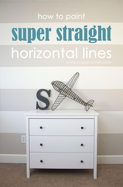 striped painted walls on pinterest. Black Bedroom Furniture Sets. Home Design Ideas