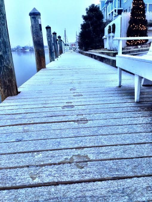 A walk along the dock