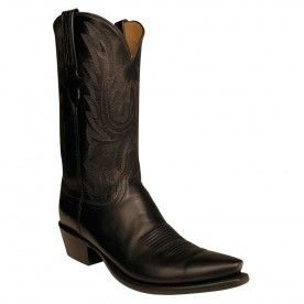 ec07d5efe9d Lucchese Men's Black Baby Buffalo Roper Boots in 2019   Cool Cowboy ...