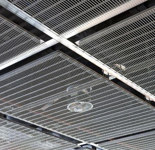 interiors - Metal Tile Canopy Interior
