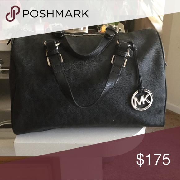346726c88a Michael Kors handbag Authentic black MK bag