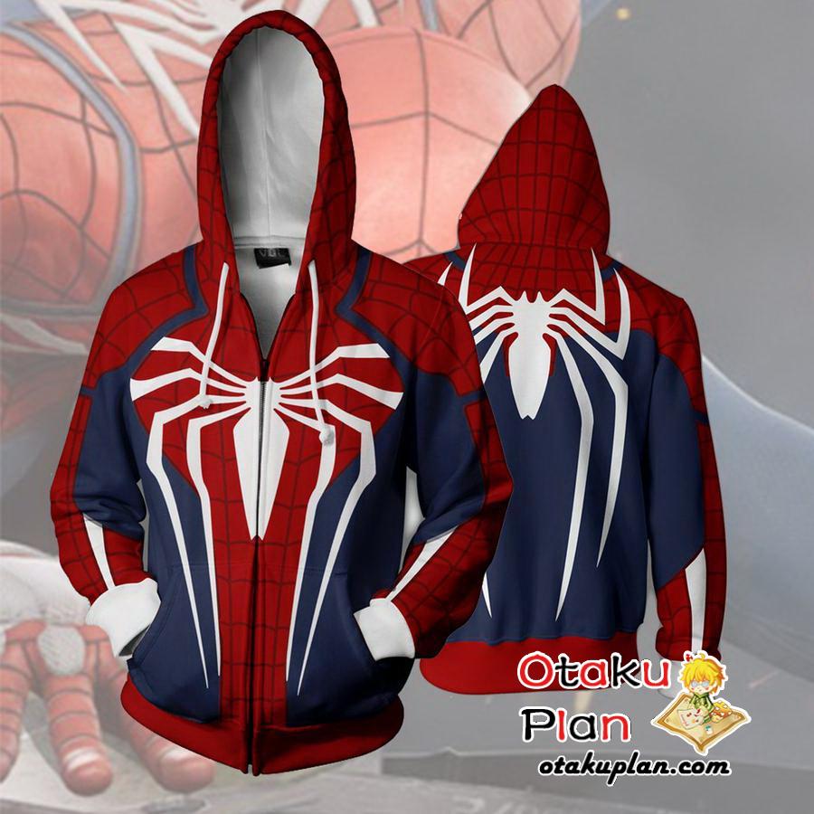 Spiderman Bambino Giacca Cappuccio