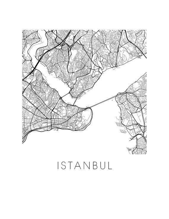 istanbul karte drucken von ilikemaps