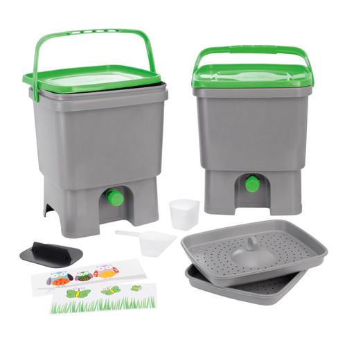 Bokashi Eimer Kuchenkomposter Starter Set Waschbar In 2020 Bokashi Kompost Starter Set