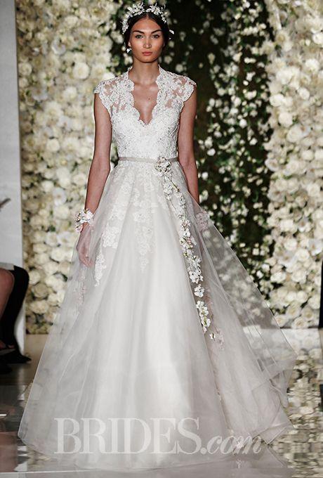 Reem Acra Fall 2017 Wedding Dress And