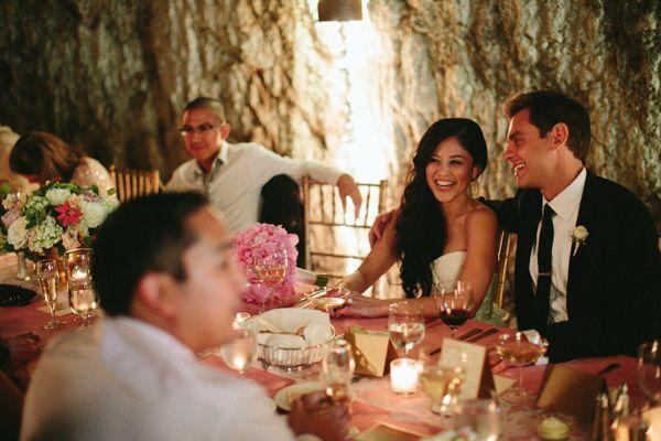 wine cellar wedding reception