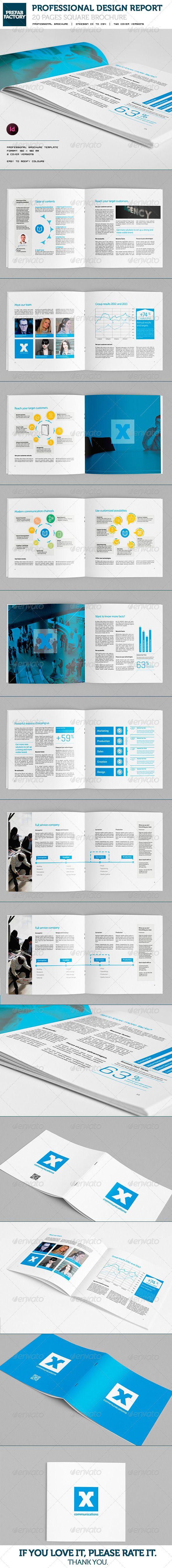 Communication Square Brochure | Marcas