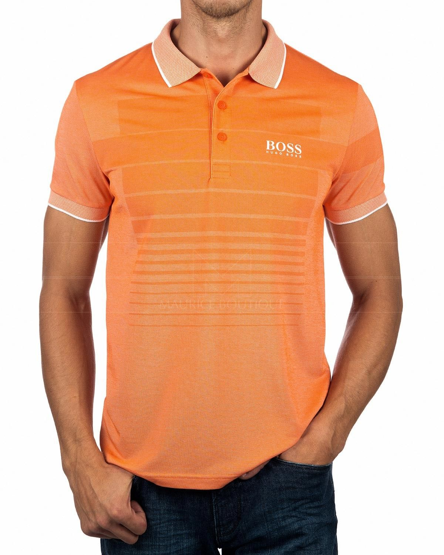 c592b7713c8 Soft Orange Hugo Boss Polo Shirt - Paddy Pro | Hugo boss | Polo ...