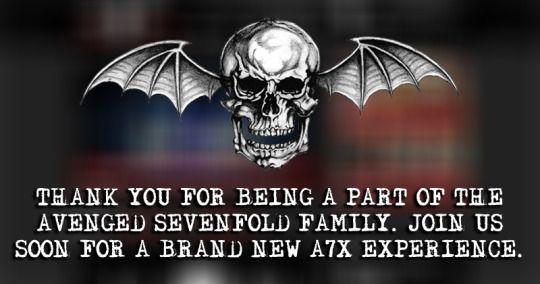 Colgado en las redes oficiales del grupo. ¿Se avecinan novedades?, ¿quizá el DVD? ¡Expectación! (a7x, avenged sevenfold, 2015)