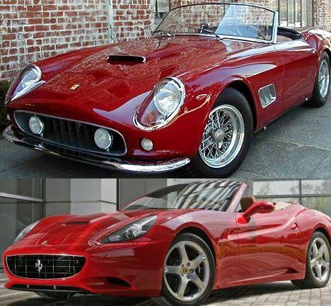 Ferrari California The Old And The New Ferrari Garage Ferrari