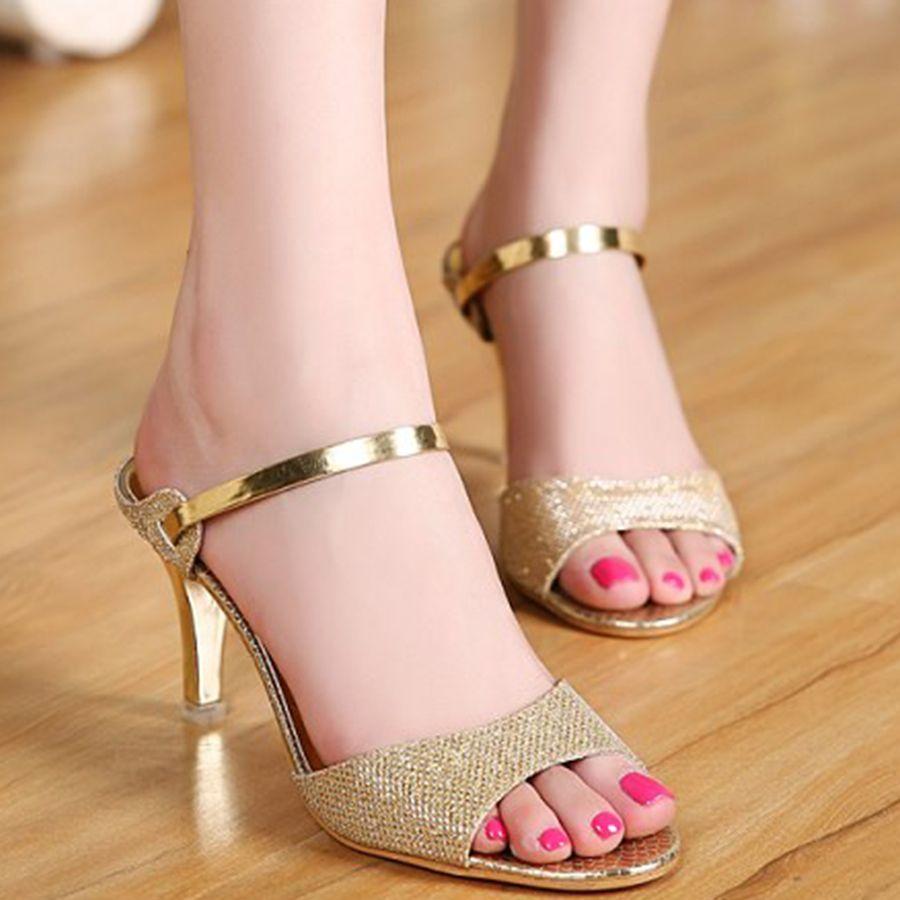 Women's Sweet Heeled Sandal
